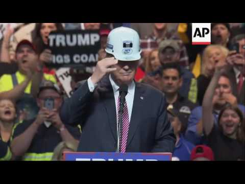 Trump Mines For Votes In West Virginia