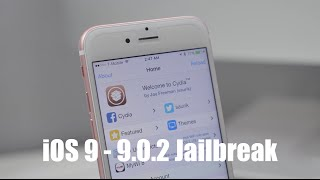 Jailbreak iOS 9 - 9.0.2 With Pangu 9 [Tutorial]