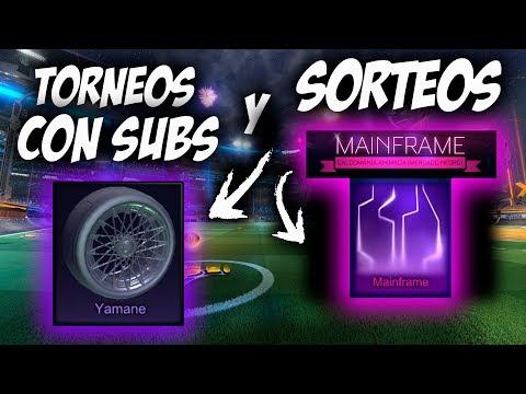 TORNEOS con SUBS y SORTEOS   SORTEO MAINFRAME   DIRECTO ROCKET LEAGUE thumbnail