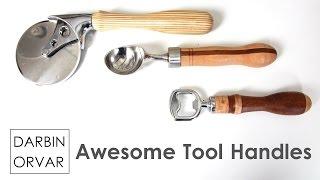 DIY Creative Handles (Woodturning)