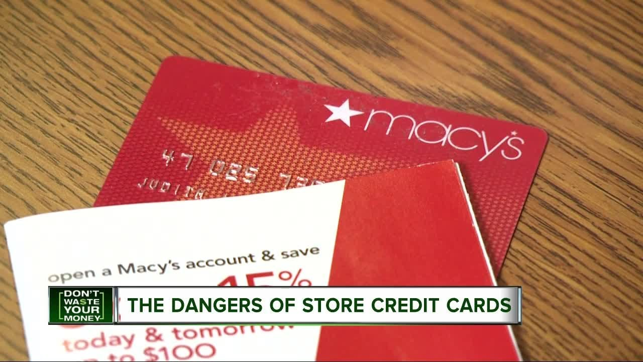 Don\'t Waste Your Money: The danger of store credit cards - YouTube