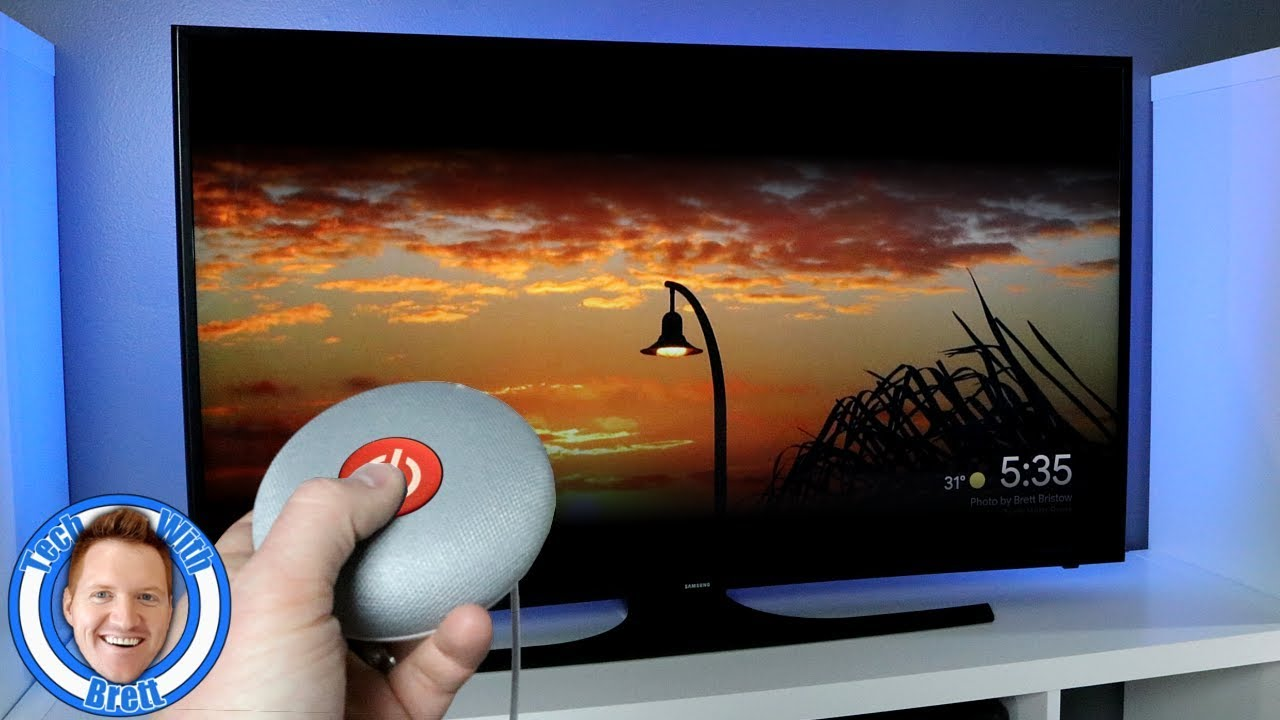 Turn Your TV On and Off With Google Home and Chromecast
