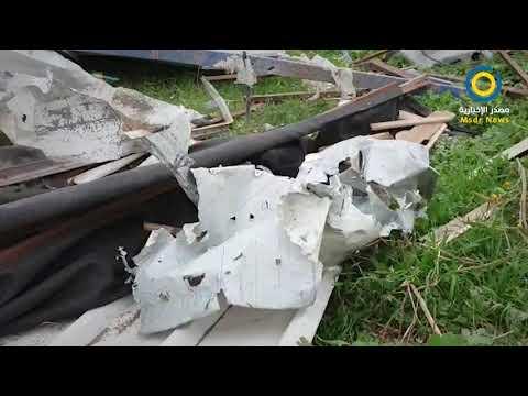 #فيديو   آثار القصف الإسرائيلي شرق خانيونس