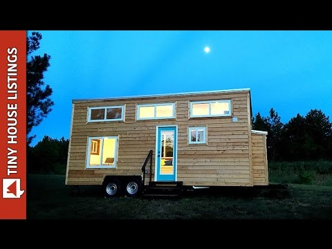 The Youngstown Tiny House Lets You Sleep Downstairs (or in the loft, your choice).