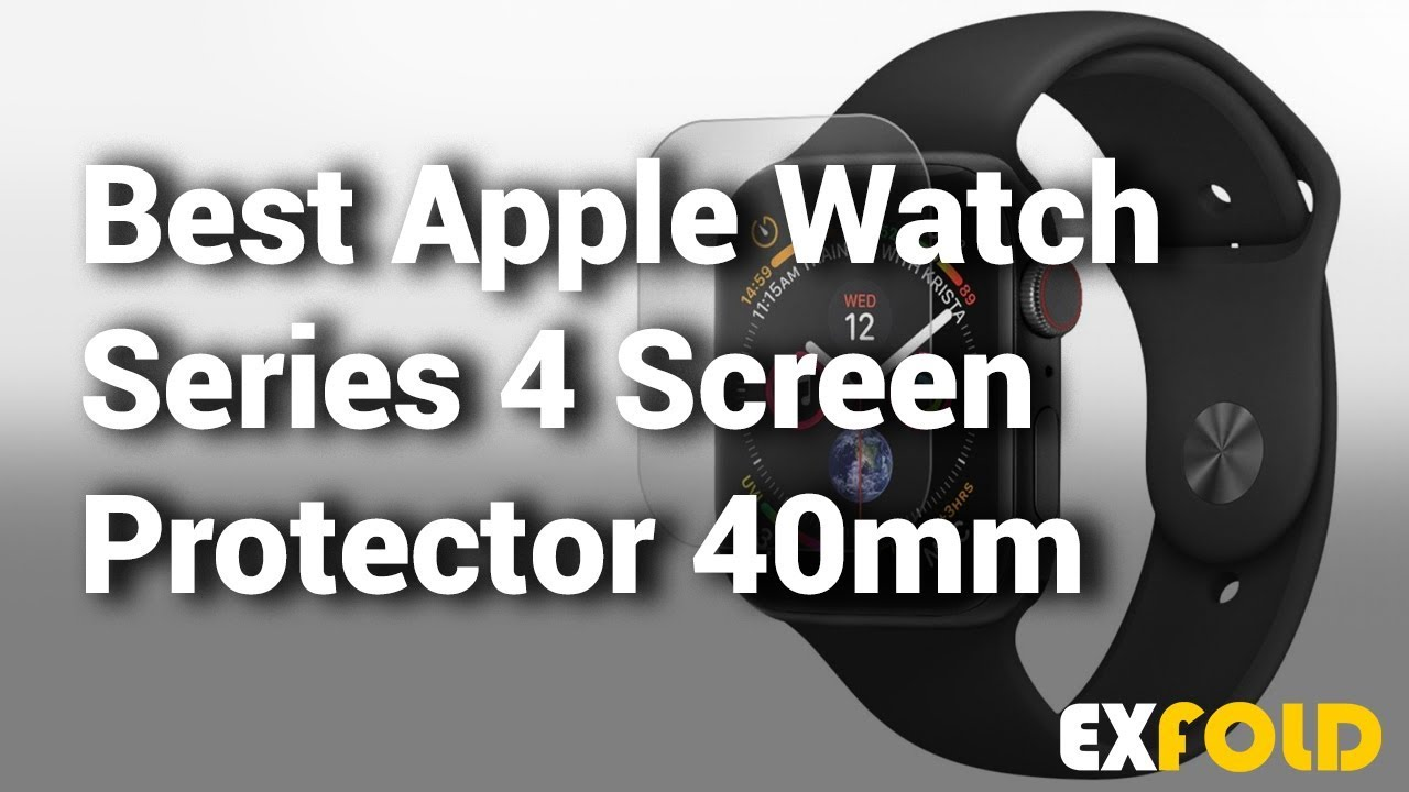 uk availability 7c1c5 b84e2 10 Apple Watch Series 4 Screen Protectors 40mm - Which is the Best ?