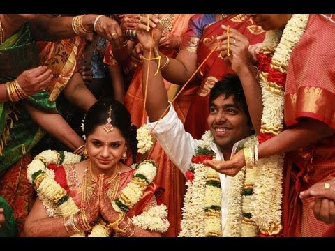 G.V. Prakash Kumar & Saindhavi Wedding