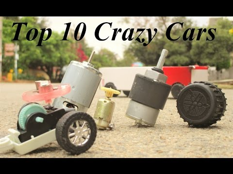 Top 10 Crazy Cars - How To Make a Car - Powered Car - Very Simple