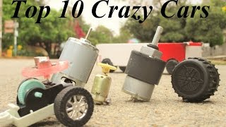 10 useful things from dc motor