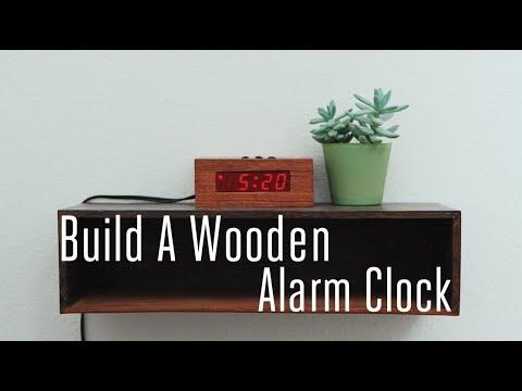 Build A Wooden Alarm Clock