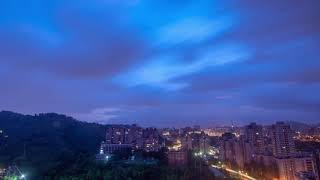 MANGKHUT Typhoon 72 hour time-lapse photography 2018/09/15