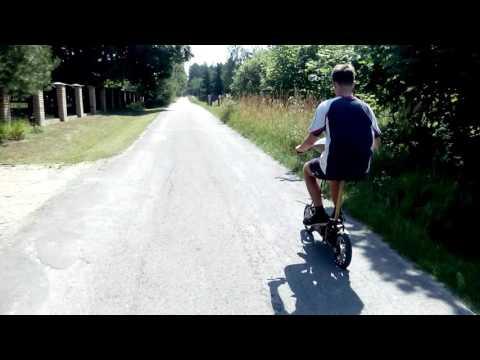 Skuter Hulajnoga Elektryczna 250W 17Ah 24v Budmann Electric Scooter Speed Test V-max 4k