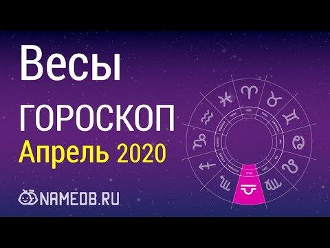 Знак Зодиака Весы - Гороскоп на Апрель 2020
