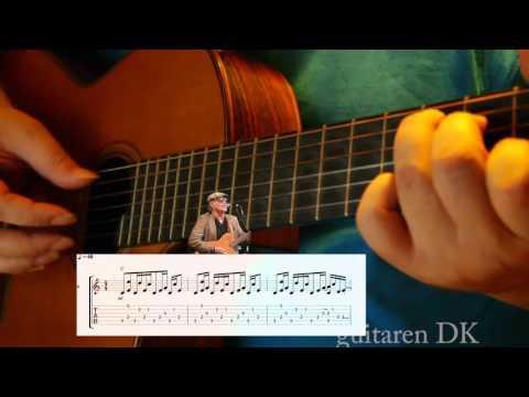 Pianomand Guitar undervisning i fingerspillet - hurtig gennemgang