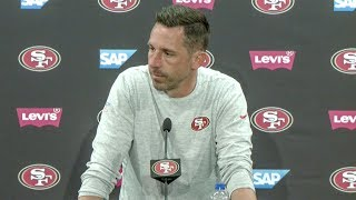 Kyle Shanahan Recaps First Two Days of OTAs