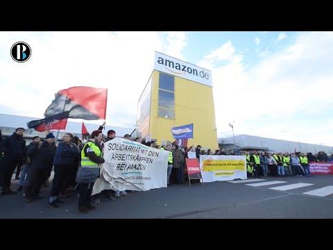 Empleados de Amazon exigen a la empresa un salario justo