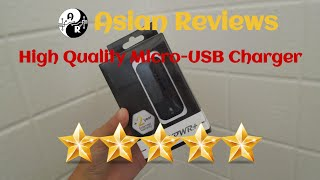 Amazing Quality! PWR+ Micro USB Charger Review