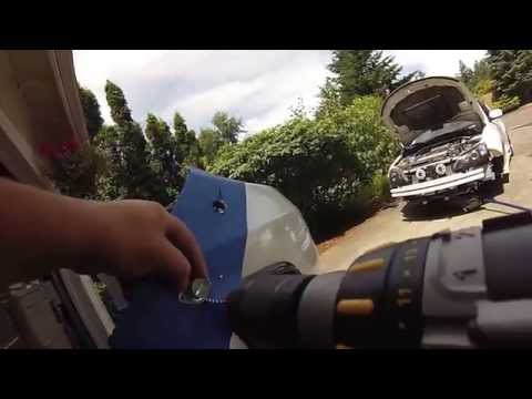 How to install Dzus Clips on a Subaru