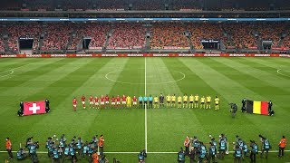 Switzerland vs Belgium UEFA Nations League 18 November 2018 Gameplay