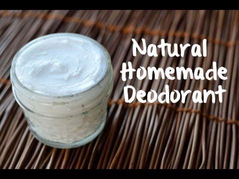How to Make Natural Deodorant (3 ingredients!)