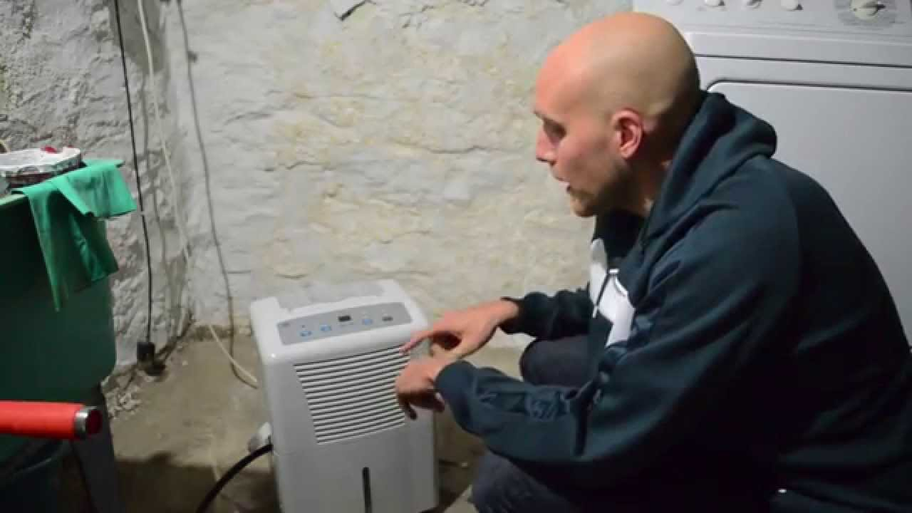 how to reduce humidity in basement wet basement solutions youtube rh youtube com how to remove moisture from basement floor how to remove moisture from basement wall