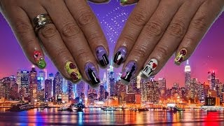 Nail Art New York con Fleury Rose & Diana Diaz  - Deko uñas