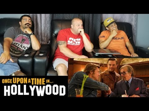 Once upon a time in Hollywood (Trailer Reaction)