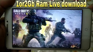 1 or 2Gb Ram | CALL OF DUTY MOBILE Download With Gameplay | Live Proof