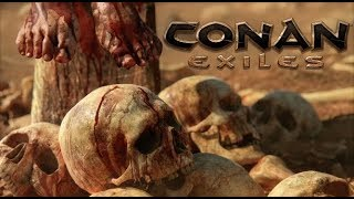 Conan Exiles Multiplayer With Tekno Fil Fus Ro Dawn And Lil Kitta! (PS4 PRO) Interactive Livestream