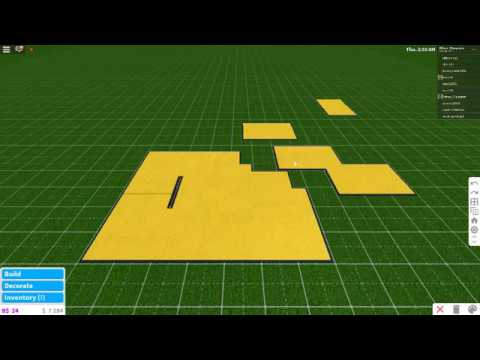 Roblox Bloxburg | Tutorial | How to make a fake floor (A ...