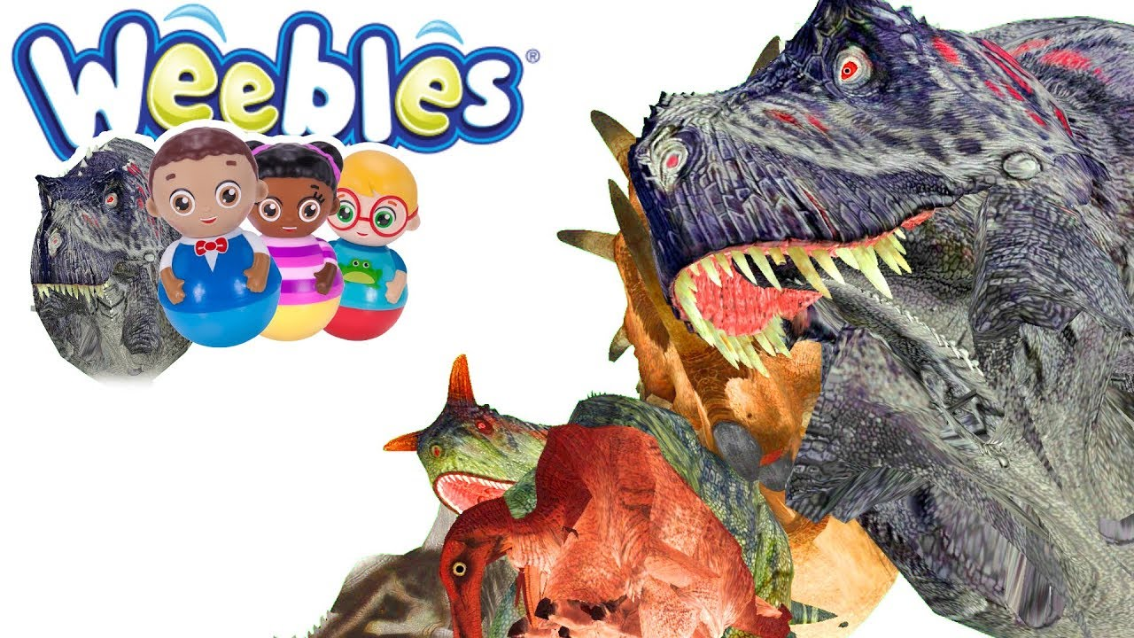 WHAT HAPPENS WHEN YOU WEEBLE A DINOSAUR!?!?!!? - Gmod Dinosaur NPCS Mod