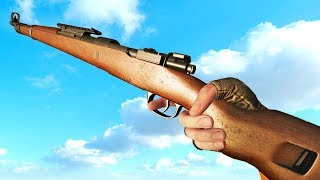 Kar98k Bolt Action Rifle - Comparison in 40 Different Games