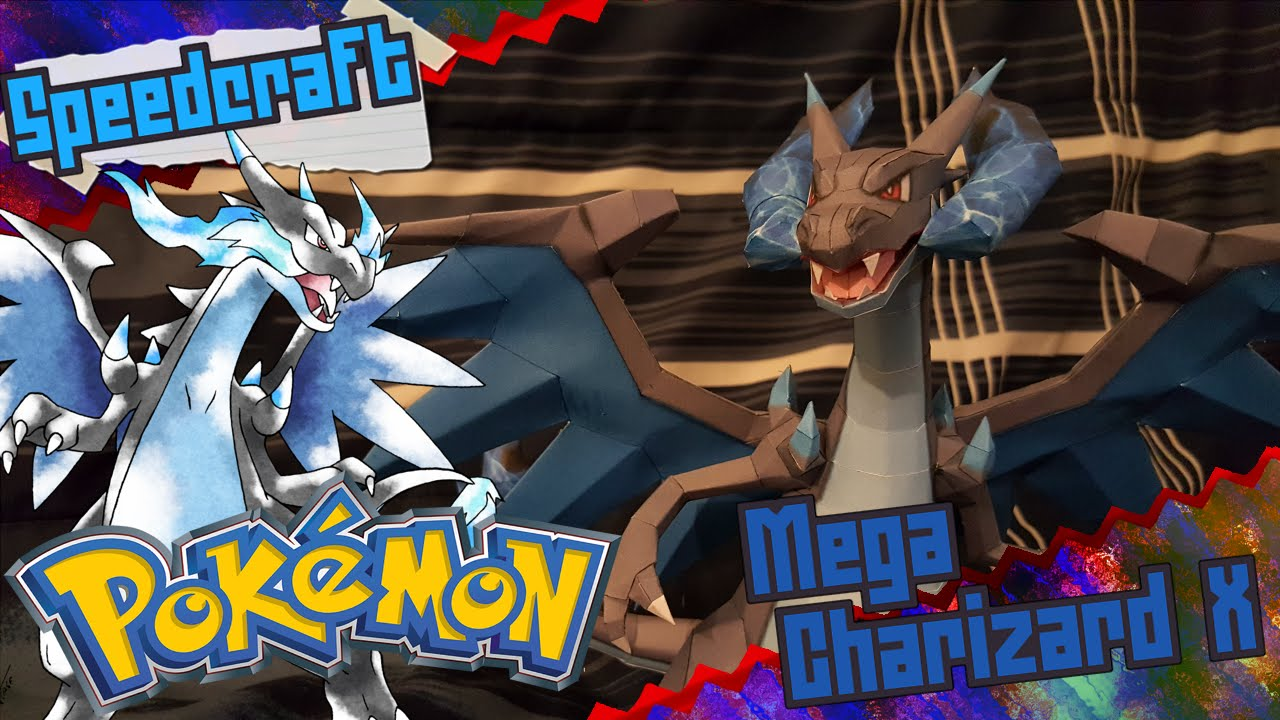 Papercraft Pokemon Papercraft ~ Mega Charizard X ~