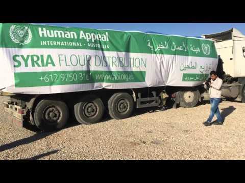 Human Appeal Australia Winter Relief 2015/16 Flour Distribution