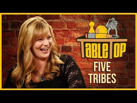 Wil Wheaton and guests Jenna Busch, Satine Phoenix, and Richard Garriott play Five Tribes in this episode of TableTop! New episodes every Thursday on ...