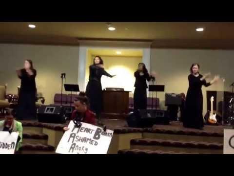 Break Every Chain by Tasha Cobbs singed by Hannah, Madison, Kara, Sabrina, & Erica.