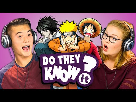 Thumbnail: DO TEENS KNOW 2000s ANIME? (REACT: Do They Know It?)