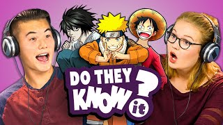 DO TEENS KNOW 2000s ANIME? (REACT: Do They Know It?) thumbnail