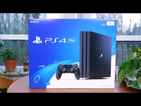 PlayStation 4 Pro Unboxing, Setup and First Impressions