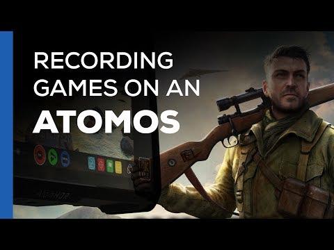 Game Capture on an Atomos Recorder - Full Setup