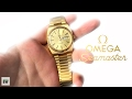 Vintage Omega Seamaster Review 166.0216 1980s Gold