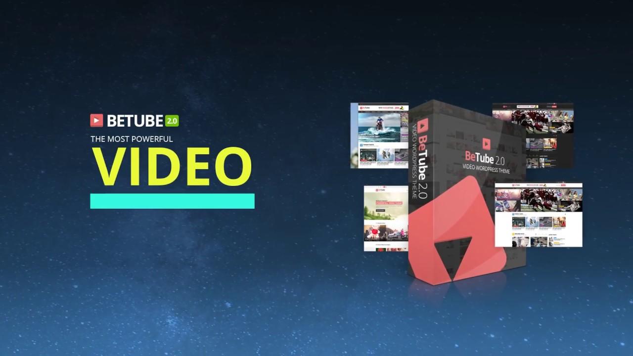 BeTube Video & Magazine WordPress Theme