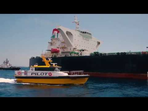 Jacobsen Pilot Service's New Pilot Boat - The Orion - at the Port of Long Beach
