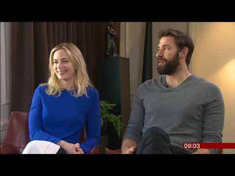 A Quiet Place - Emily Blunt & John Krasinski  interview BBC Breakfast