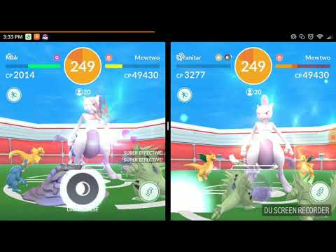 How to play Pokemon Go Two accounts||Pokemon Go Dual Screen