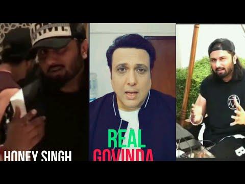 Govinda reply to Honey Singh upcoming song