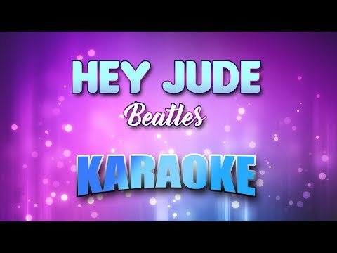 Hey Jude - Beatles(Karaoke Version With Lyrics)