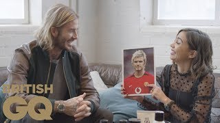 David Beckham grooming line: a history of hairstyles | British GQ
