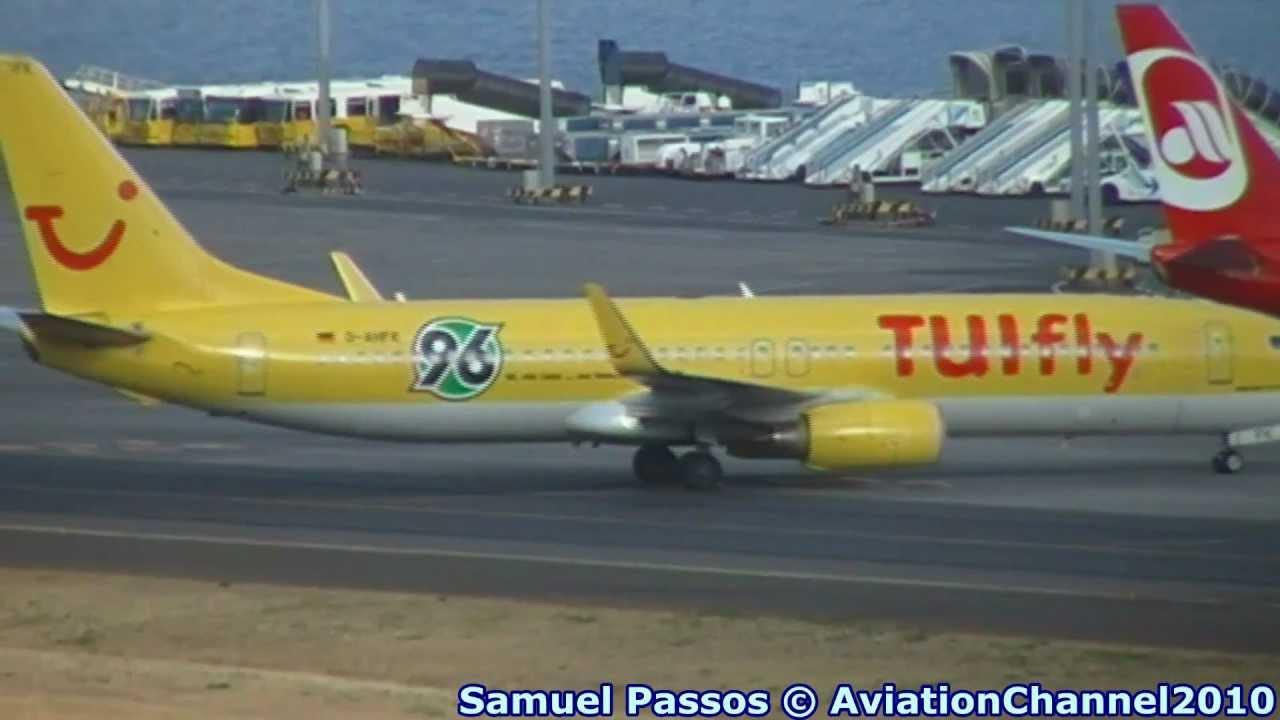 B737 800 TuiFly Special Hannover 96 Logo O Madeira