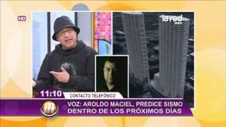 Aroldo Maciel predice un fuerte sismo pa...