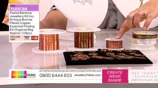 'How to Make Beaded Jewellery': JewelleryMaker LIVE 8/09/2014